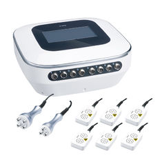 Multifunctional RF Laser Beauty Machine With Tripolar Pads Fat Reduction