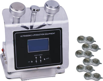 Cracking Cellulite Ultrasonic Liposuction Equipment , Vacuum Cavitation Machine For Weight Loss