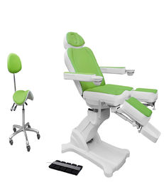 Nail Beauty Salon Equipment For Foot Spa And Facial Cosmetic Pedicure Chair Bed