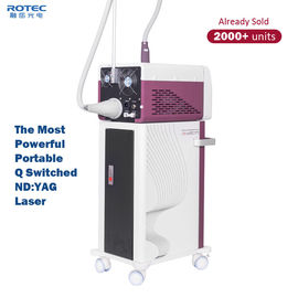 Portable 1200W High Powerful Q Switched ND Yag Laser Multifunction Skin Care Machine