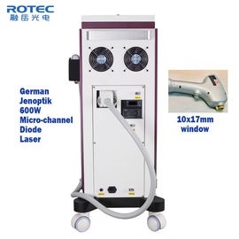 808nm Diode Laser Hair Removal Machine Air Water Semiconductor Cooling