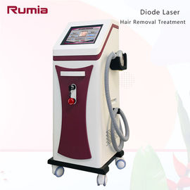 China Triple Wavelengths 755nm 808nm 1064nm  Diode Laser Hair Removal Machine Stationary Strong Power factory