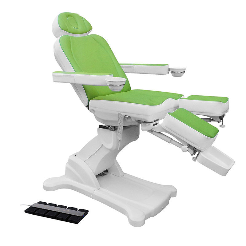 Nail Care Pedicure Spa Massage Chair , Automatic Control Hydraulic Massage Table