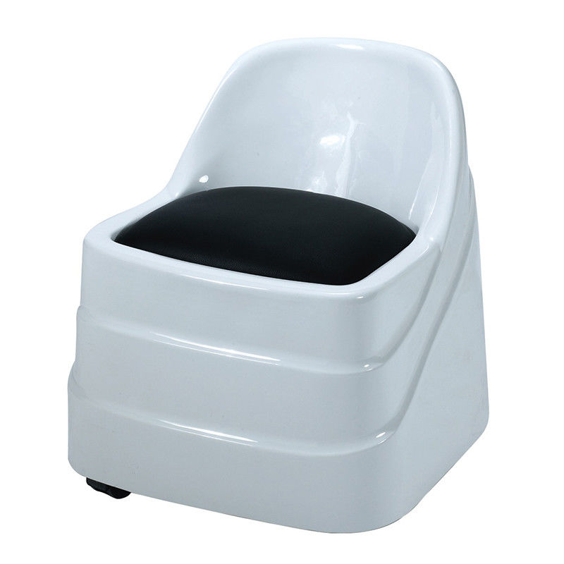 Salon Funitures Manicure Pedicure Stool With Hydraulic To Up And Down