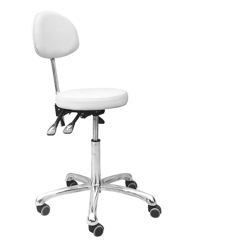 Hairdressing Rolling Beauty Salon Stools , Salon Pedicure Stool For Cosmetologist