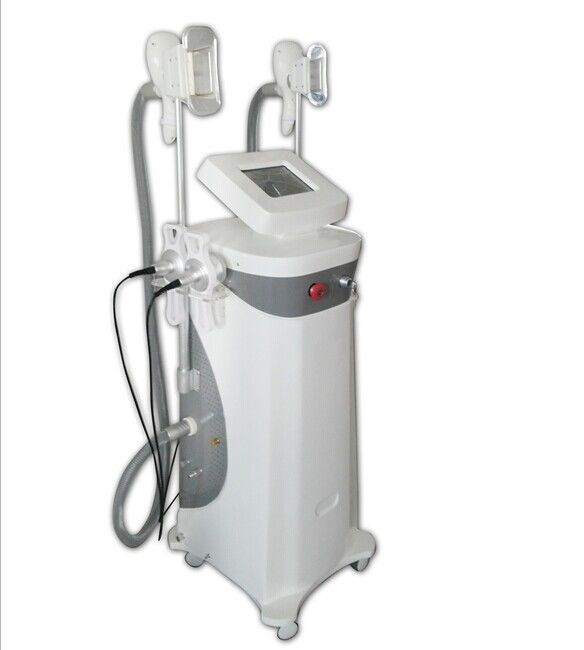 Double Cryolipolysis Handle Cavitation Slimming Machine With Frozen Fat In Beauty Shop