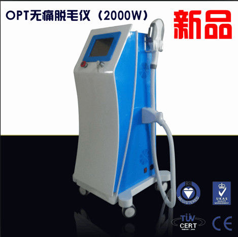 Beauty Salon Painless IPL Beauty Machine Radio Frequency SHR With Light Technology