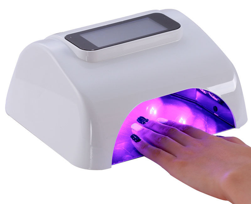 Gel Curing Nail Polish Dryer Fingernail / Toenail Eye Friendly Energy - Saving