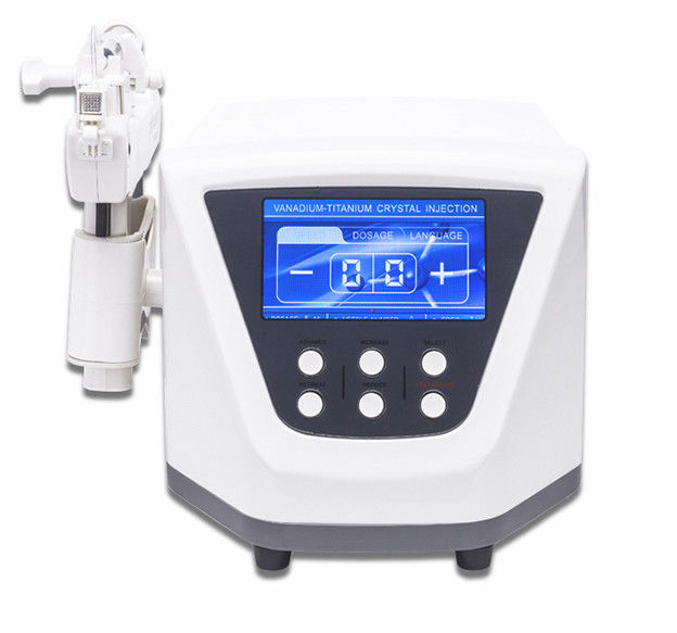 Cosmetics Meso Skin Whitening Injection Needleless Machine Nano Mesogun