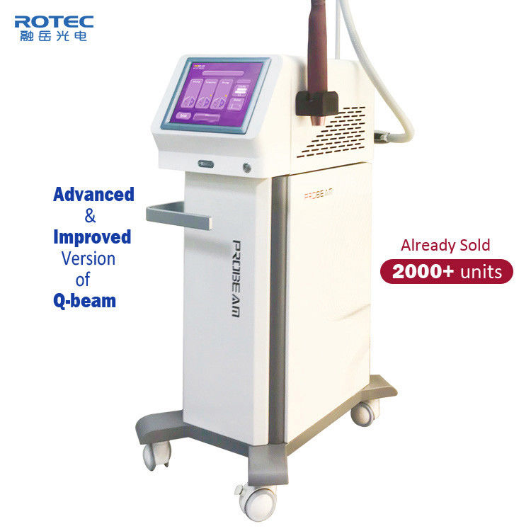 Tattoo Removal Q Switched ND YAG Laser Machine 532nm/1064nm Wavelenth Four Treantment Tips supplier