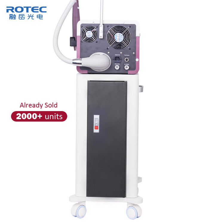 Skin Care Q Switched ND YAG Laser Machine Acne Treatment For Commercial 1064nm 532nm supplier
