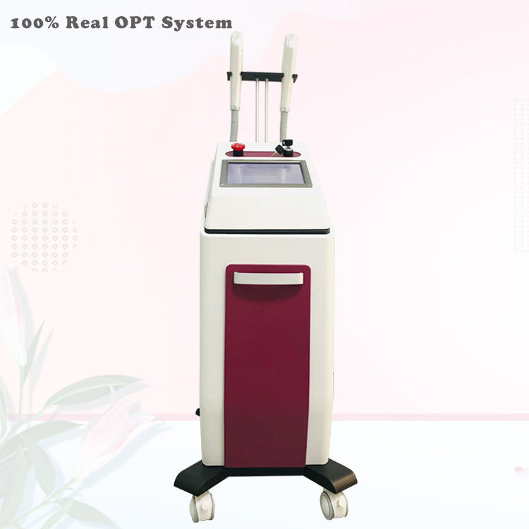 Skin Care Intense Pulsed Light OPT Beauty Machine Hair Removal 2 Wavelengths Handpiece supplier
