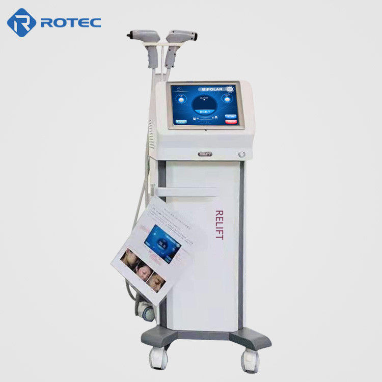 40-65℃ Temperature RF Skin Tightening Machine For Face Lifting Weight Loss Beauty Salong Use supplier