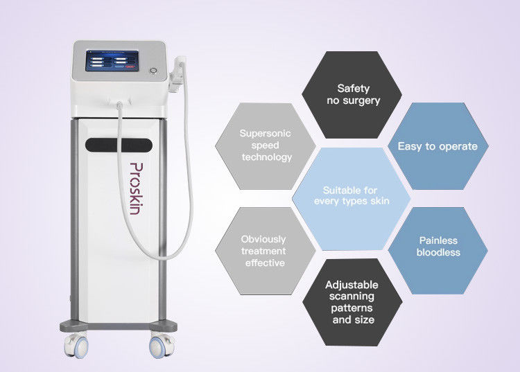 Instant Continuous Salon Beauty Machine High Pressure Injector Anti - Puffiness Removal Machine supplier