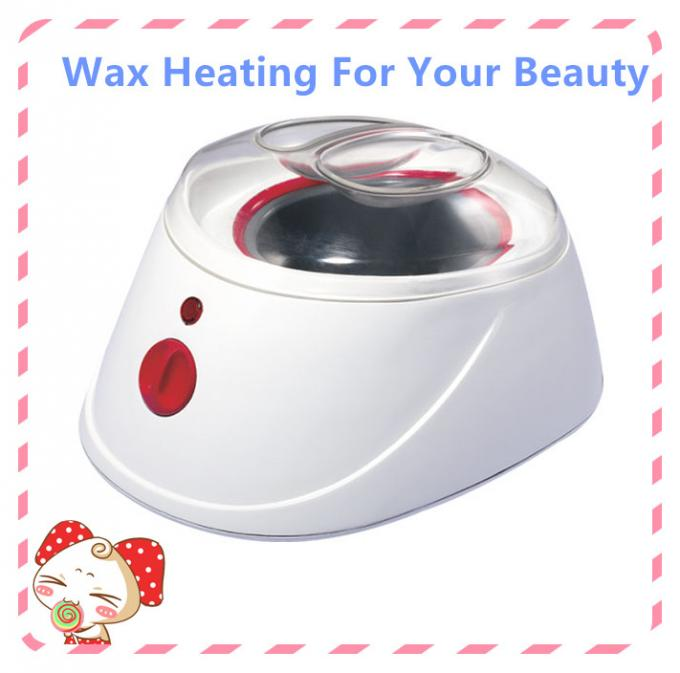 Hair Removal Professional Wax Warmer Salon Depilatory , White Wax Melting Machine