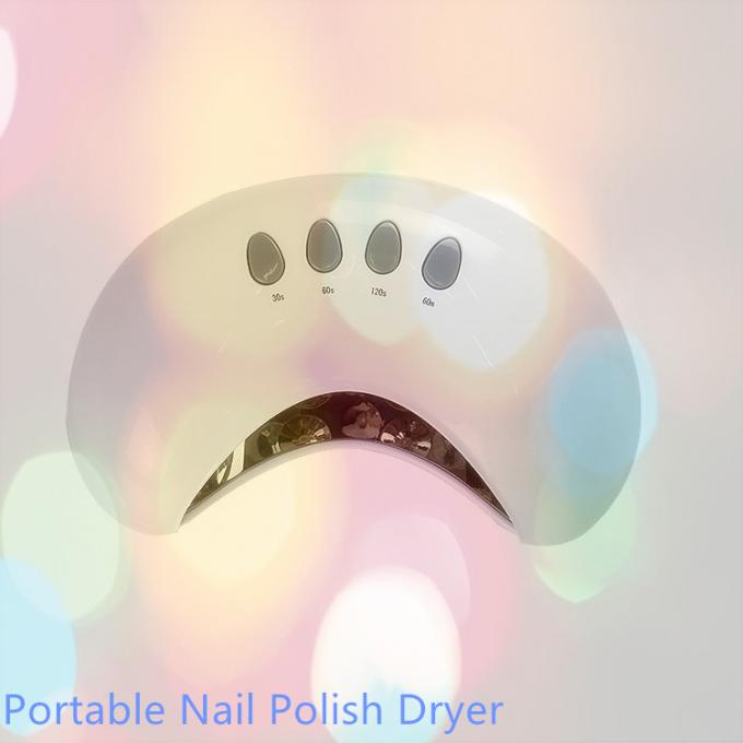 Nail Art Curing Nail Polish Dryer LED UV Light Hidden Time Display On Manicure Table