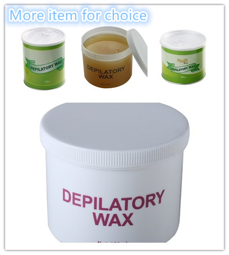Home Use Tin Depilatory Wax Removing Unwanted Hair Non Strip With Many Smell