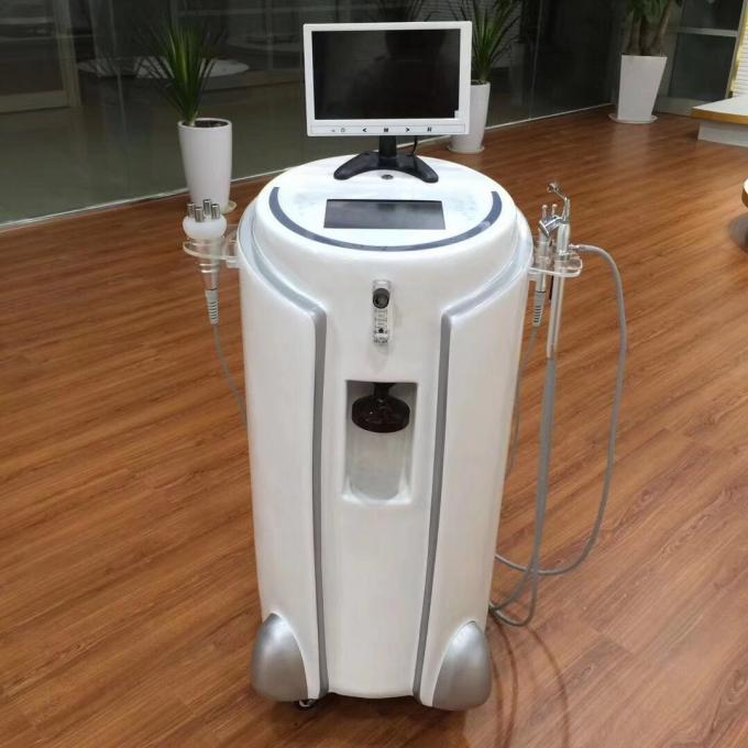Beauty Salon Instrument With Skin Analyzer For Oxygen Water Jet Machine