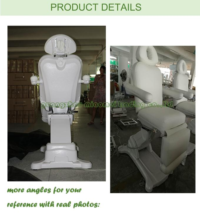 Electric Massage Table With Thick Foam For Beauty Salon Equipment