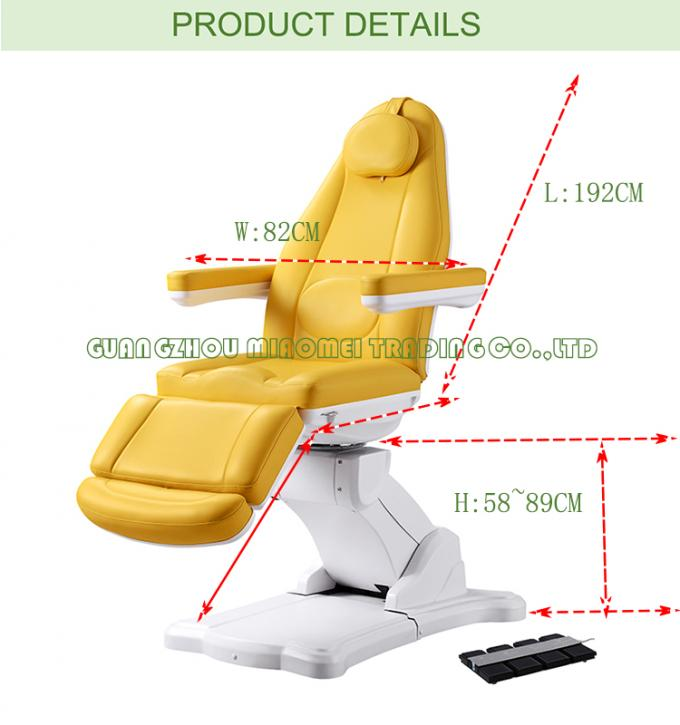 Hospical Clinic Using Dental Chair With Electric Motor For Nuga Massage Bed