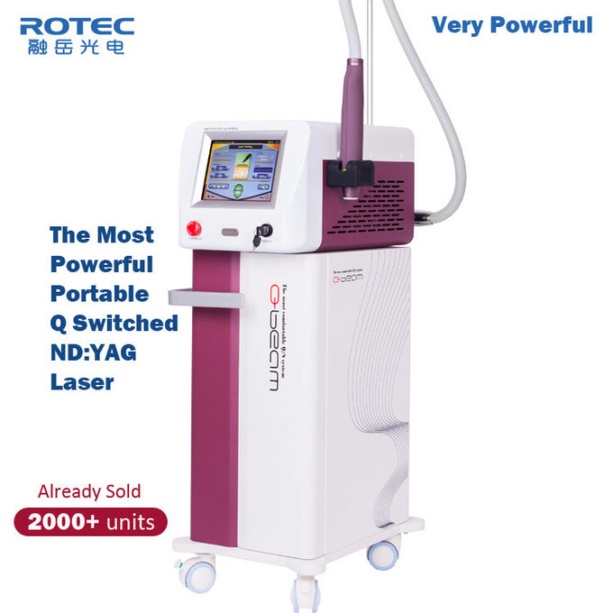 1000W Portable Laser Tattoo Removal Machine Tatoo Removal Laser Nanosecond Q Switched Laser
