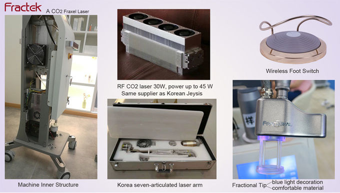 Vaginal Skin Tightening Laser Machine Matrix Co2 Fractional Laser High Efficiency For Clinic System